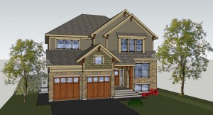 New designs in sketchup for House design com